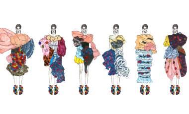 LUO XIAOYAN 服装设计 帕森斯设计学院