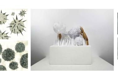ZHANG XINYUE 珠宝设计 中央圣马丁艺术与设计学院、坎伯韦尔艺术学院、伯明翰城市大学