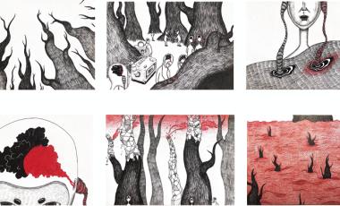 LIU YIYANG 插画设计 谢菲尔德大学、考文垂大学、伦敦艺术大学