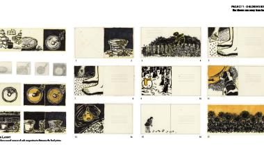BIAN YUCHEN 插画设计 诺丁汉特伦特大学、坎伯韦尔艺术学院、金斯顿大学