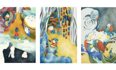 GUO RUITING 插画设计 布朗大学、罗德岛设计学院、帕森斯设计学院、宾夕法尼亚大学、纽约视觉艺术学院、普瑞特艺术学院、普林斯顿大学