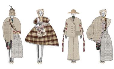 LIANG PEIYI 服装设计 皇家艺术学院